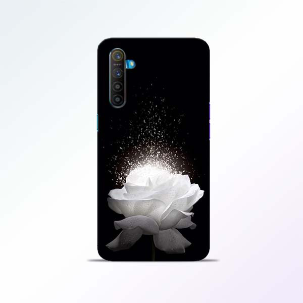 White Rose Realme XT Mobile Cases