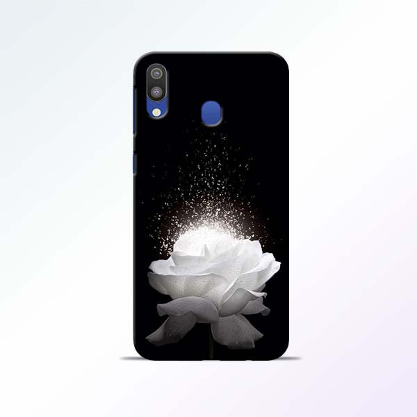 White Rose Samsung Galaxy M20 Mobile Cases