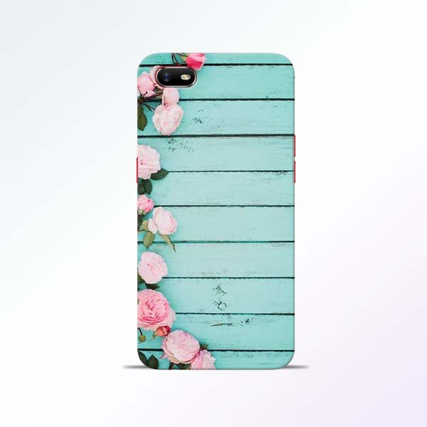 Wood Flower Oppo A1K Mobile Cases