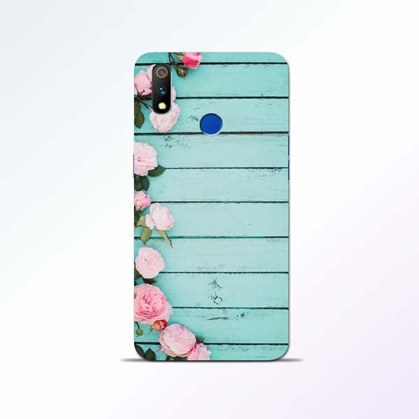Wood Flower Realme 3 Pro Mobile Cases