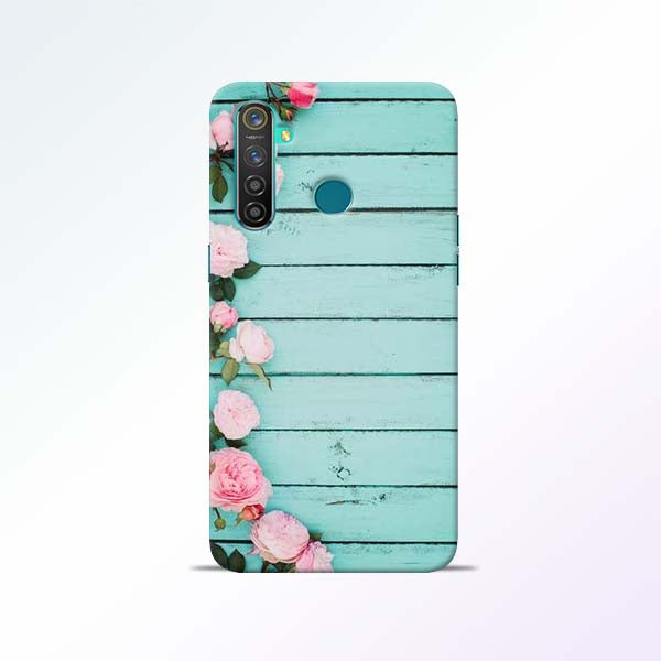 Wood Flower Realme 5 Pro Mobile Cases