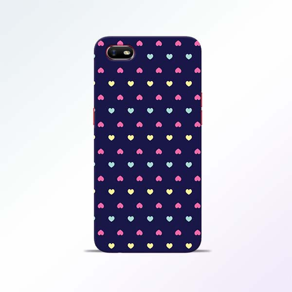 Cute Heart Oppo A1K Mobile Cases