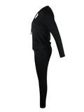 OLA Noir - Ensemble Leggings Sport Sexy noir,LES LEGGINGS,LES ENSEMBLES LEGGINGS,slimdy