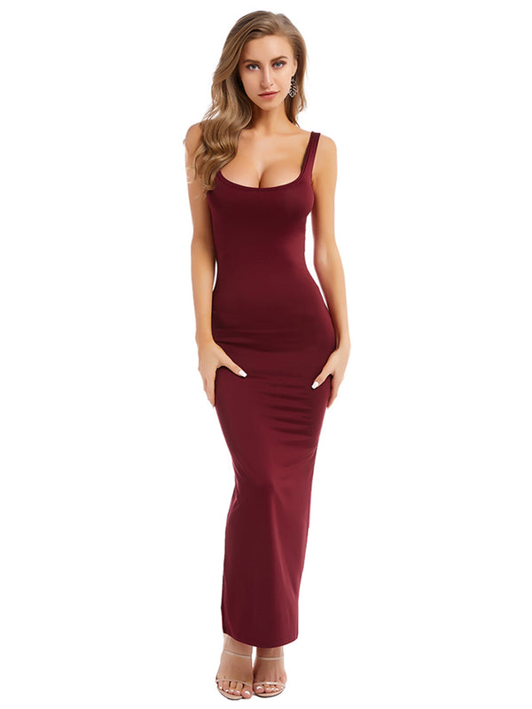 HAILEY - ROBE MAXI LONGUE MOULANTE