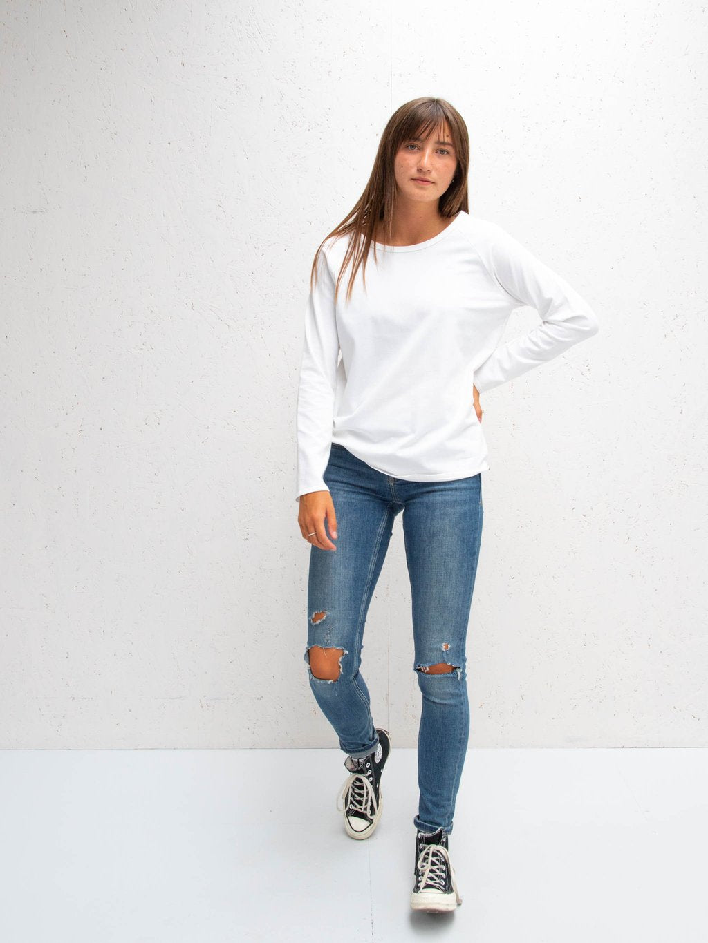 Chalk Tasha T-Shirt | White