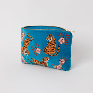Tiger Azure Everyday Pouch