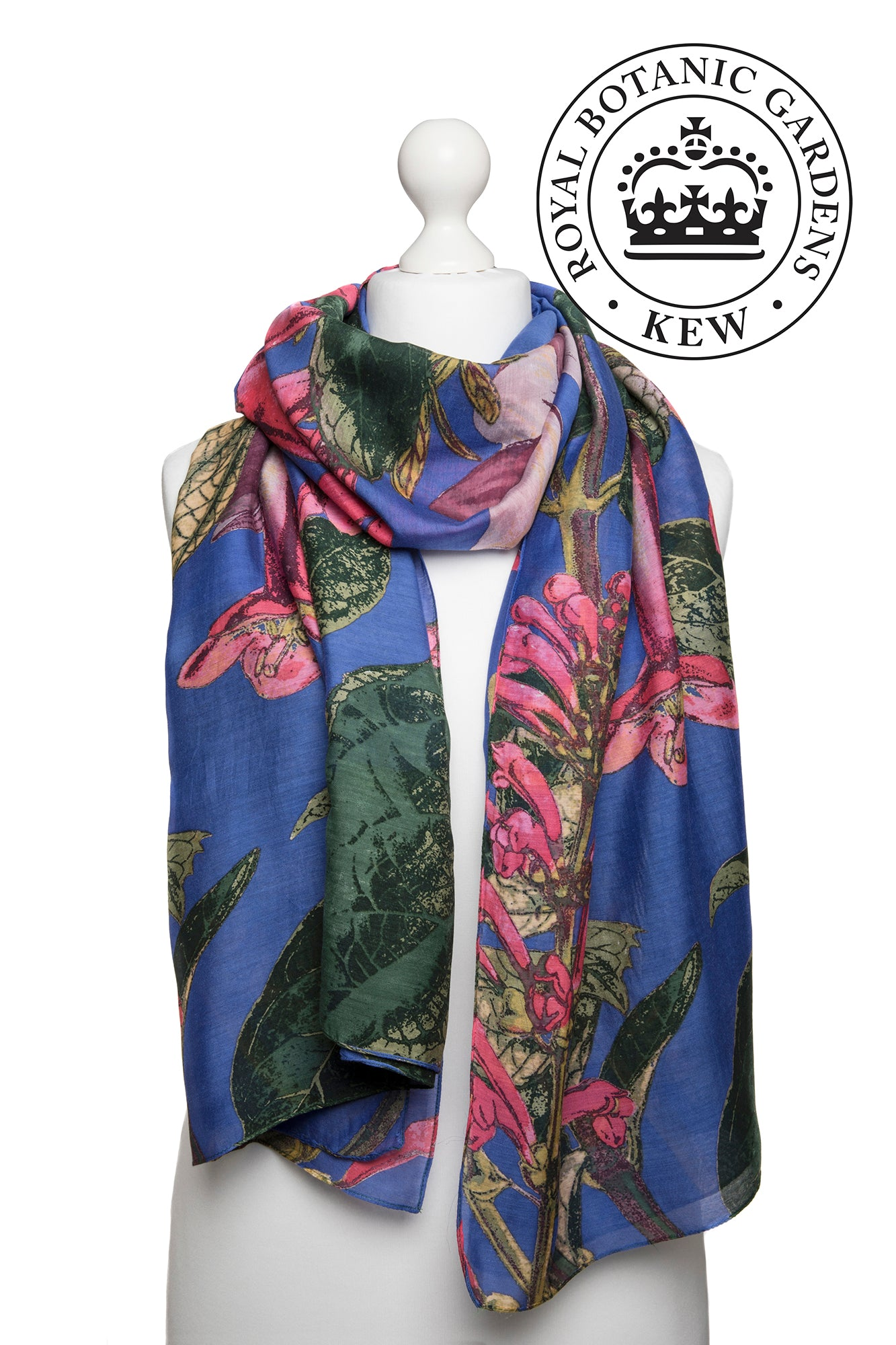 One Hundred Stars Kew Purple Magnolia Scarf