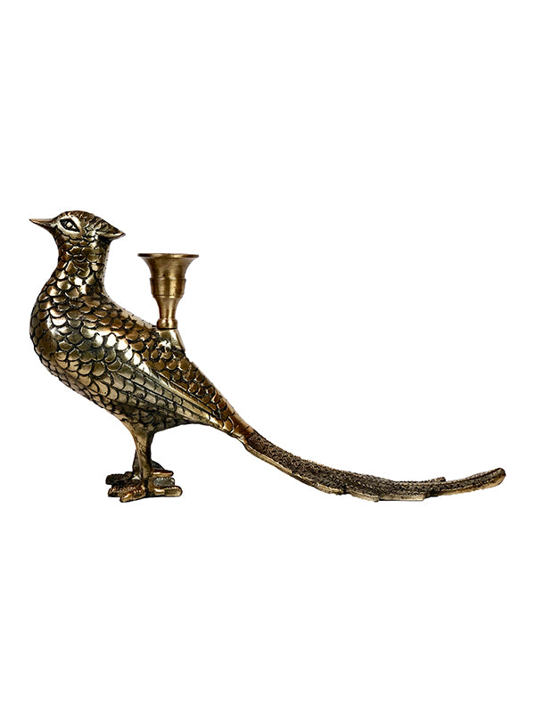 Pheasant Candle Holder