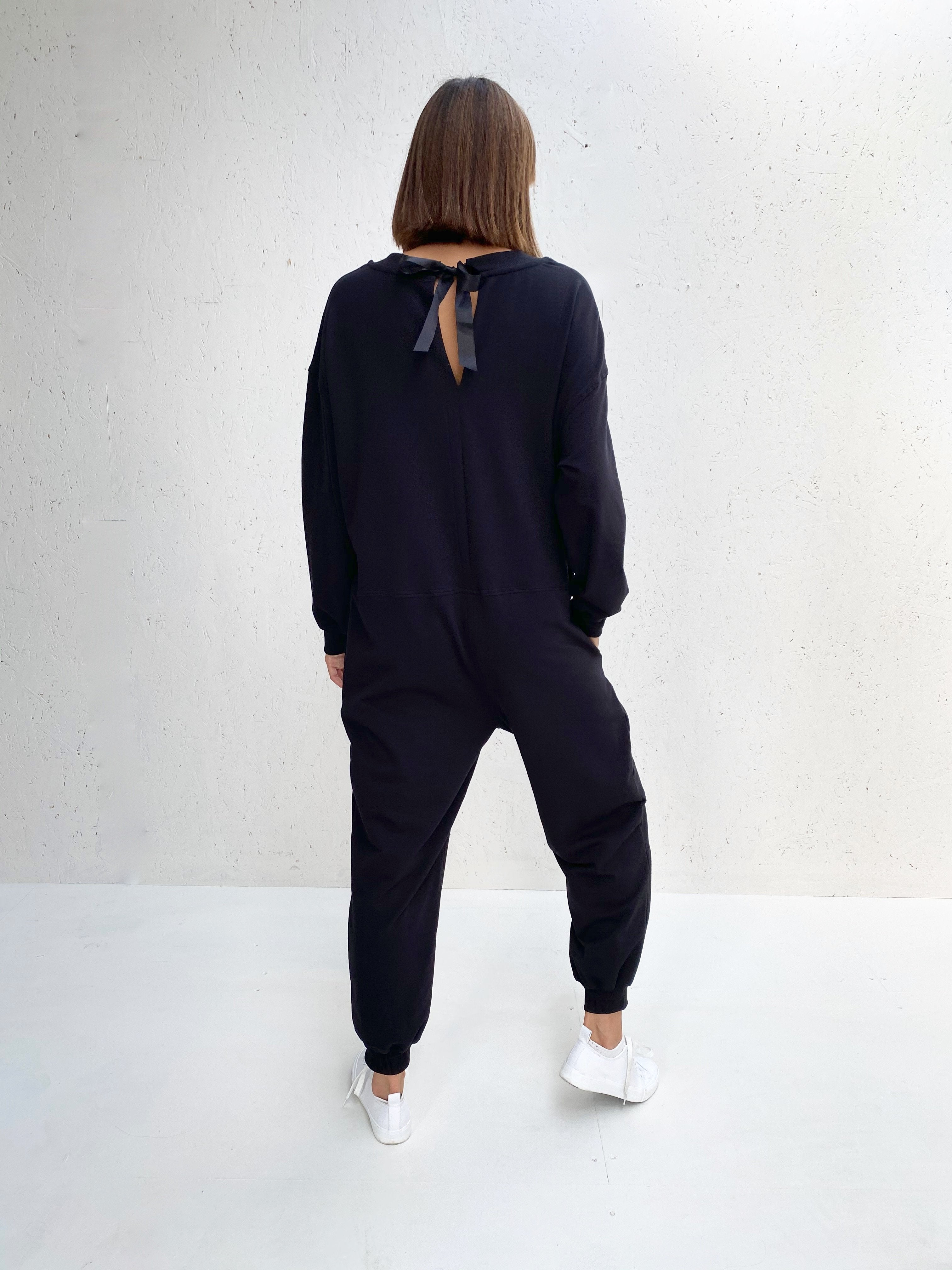 Chalk UK | All In One Jumpsuit | Black