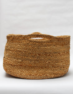 Jute Floor Basket Natural