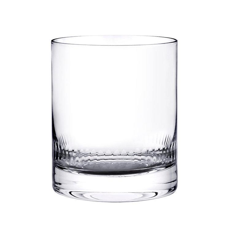 Pair of Crystal Whisky Tumblers 2 Styles