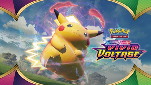 Pokemon Vivid voltage cards are in stock now