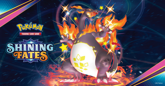 Pokemon Shining Fates are in stock on the 19th February.