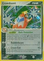 Pokemon Ex: Deoxys - Crawdaunt - 006/107 - New Holo Rare card