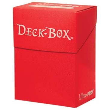 Deck Box - Ultra Pro Red