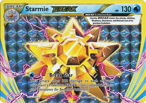 Pokemon XY Evolutions - Starmie BREAK - 032/108 - New Holo Rare card