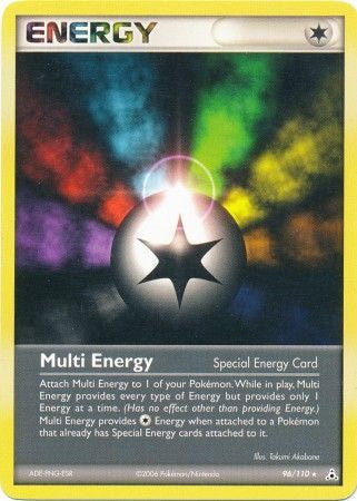 Pokemon Ex: Holon Phantoms - Dark Metal Energy - 096/110*U - Used Rare card