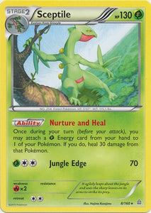 Pokemon XY Primal Clash - Sceptile - 008/160*U - Used Rare card