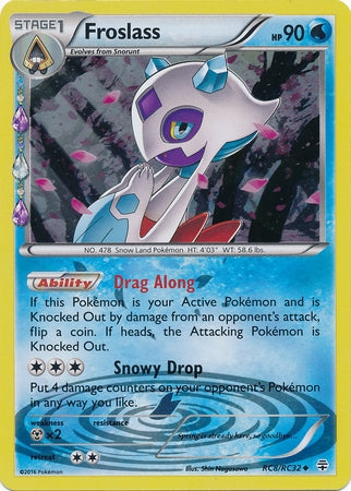 Pokemon Generations - Froslass - RC08*U - Used Uncommon card