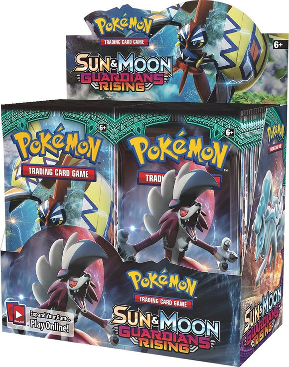 Pokemon Sun and Moon Guardians Rising - Sealed Booster Box