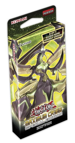 Yu-Gi-Oh Special Edition - Maximum Crisis - New Special Edition Box