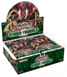 Yu-Gi-Oh FACTORY SEALED Booster Box - Invasion Vengeance - New Booster Box