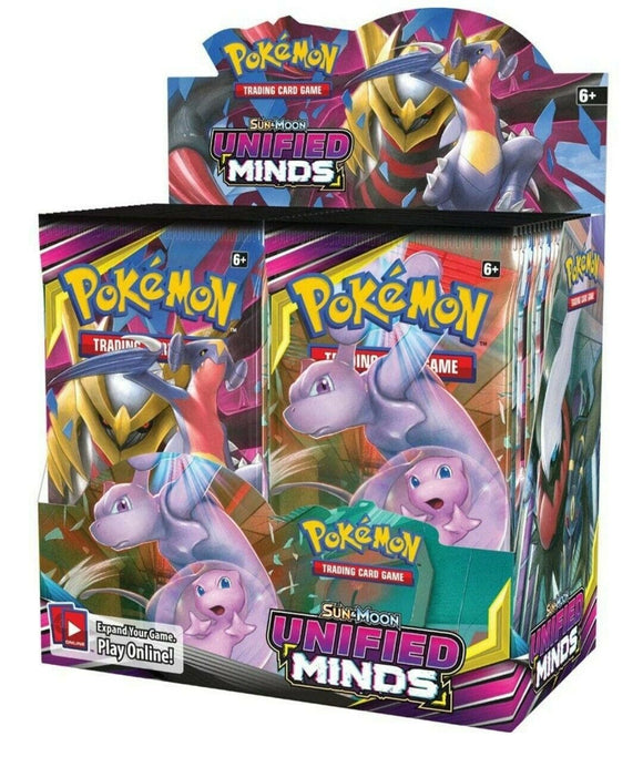 Pokemon Sun and Moon Unified Minds - Sealed Booster Box