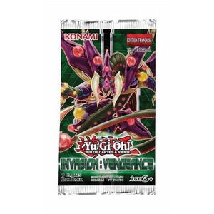 Yu-Gi-Oh Invasion Vengeance - 1 Booster Packet - - New Booster Packet