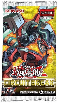 Yu-Gi-Oh Circuit Break - 1 Booster Packet - New Booster Packet