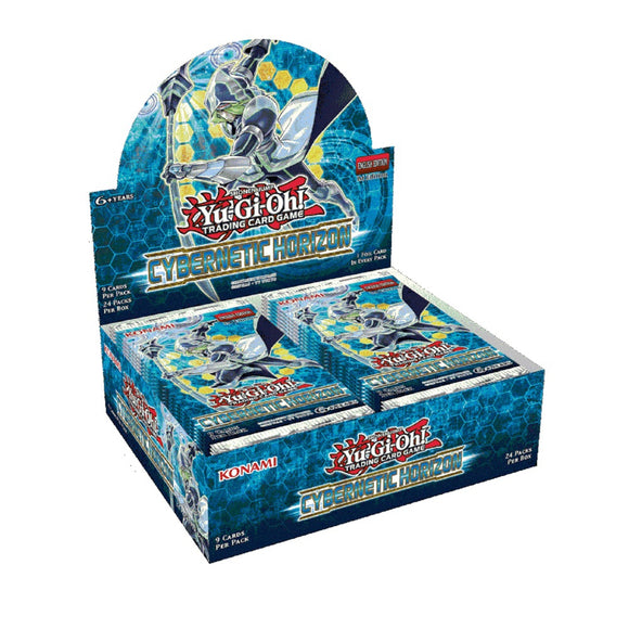 Yu-Gi-Oh FACTORY SEALED Booster Box - Cybernetic Horizon - New Booster Box