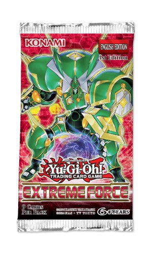 Yu-Gi-Oh Extreme Force - 1 Booster Packet - New Booster Packet