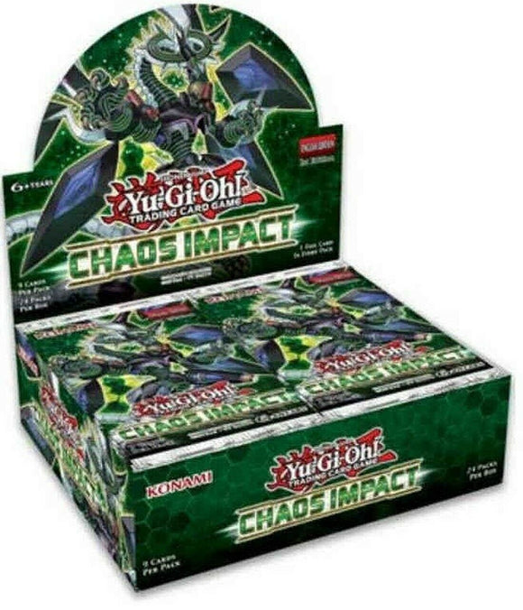 Yu-Gi-Oh FACTORY SEALED Booster Box - Chaos Impact - New Booster Box