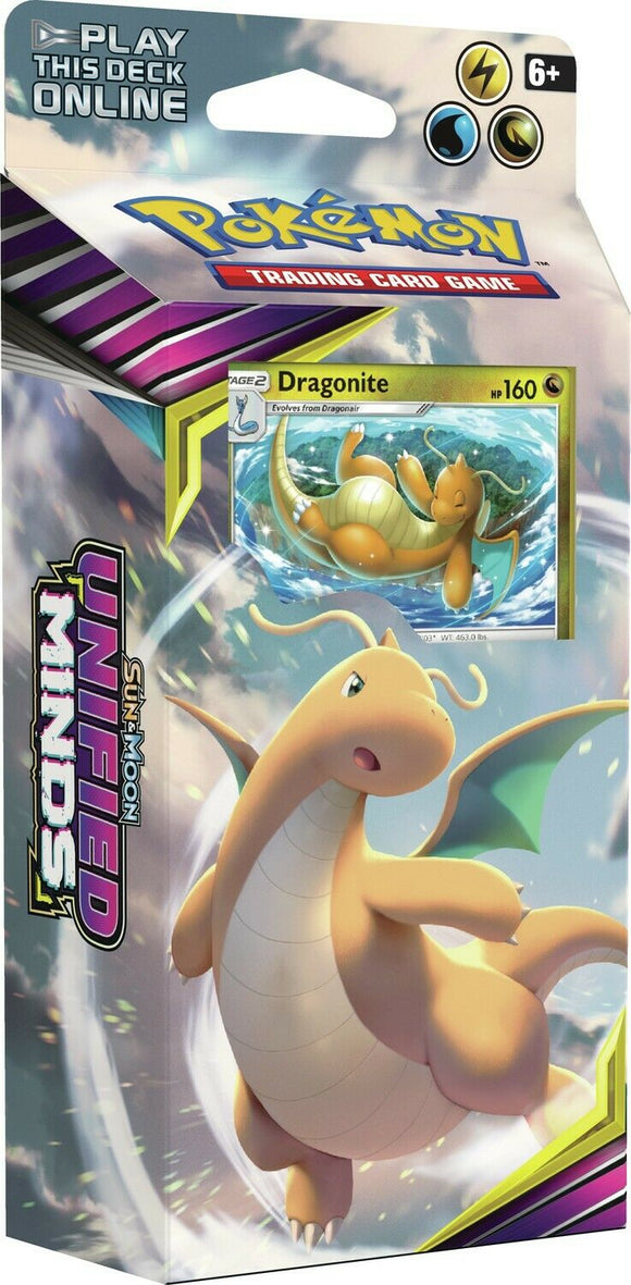 Pokemon Theme Deck - Unified Minds Soaring Storm (Dragonite)