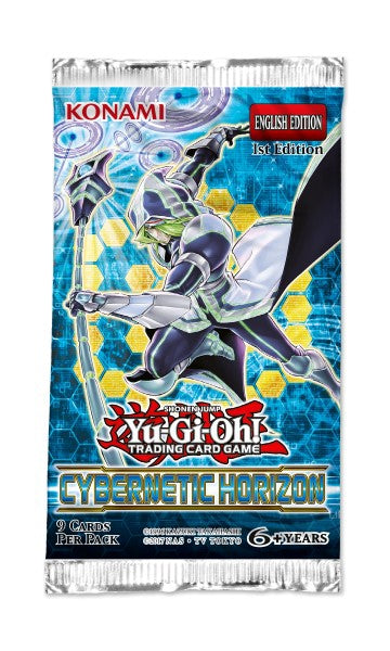 Yu-Gi-Oh Cybernetic Horizon - 1 Booster Packet - New Booster Packet