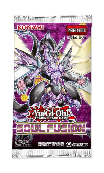 Yu-Gi-Oh Soul Fusion - 1 Booster Packet - New Booster Packet