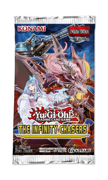 Yu-Gi-Oh Infinity Chasers - 1 Booster Packet - New Booster Packet