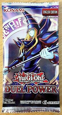Yu-Gi-Oh Duel Power - 1 Booster Packet - New Booster Packet