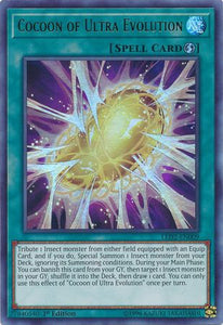 Yu-Gi-Oh Legendary Duelists: Ancient Millennium - Cocoon of Ultra Evolution - LED2-EN009 - Used Ultra Rare card