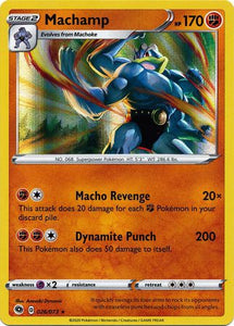 Pokemon Champions Path - Machamp - 026/073 - New Holo Rare card