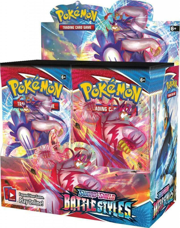 Pokemon Sword and Shield Battle Styles - Factory Sealed Booster Box