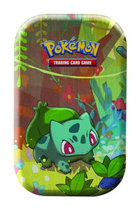 Pokemon Kanto Friends Mini Tin - Bulbasaur - New Collectors Tin *LIMIT 1*