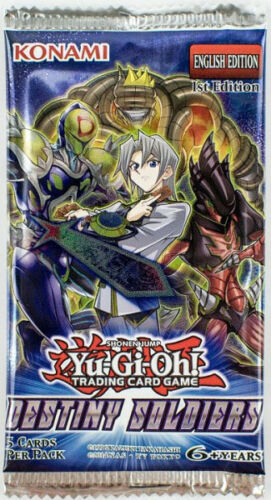 Yu-Gi-Oh Destiny Soldiers - 1 Booster Pack
