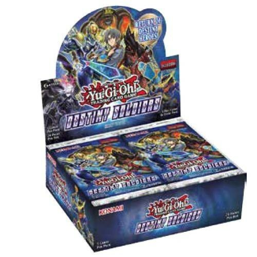Yu-Gi-Oh FACTORY SEALED Booster Box - Destiny Soldiers - New Booster Box