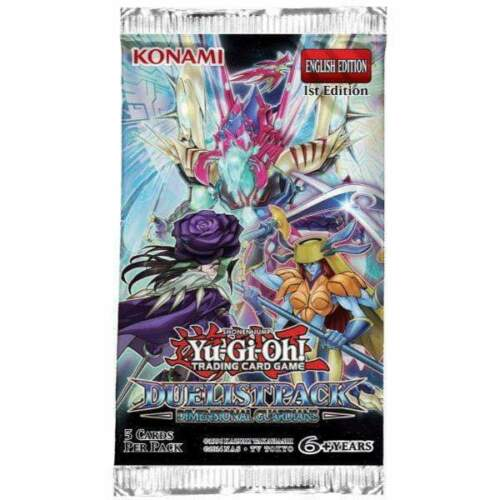Yu-Gi-Oh Duelist Pack Dimensional Guardians - 1 Booster Pack