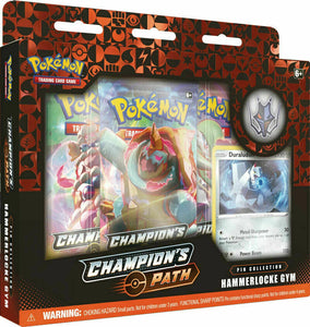 Pokemon Champions Path Pin Collection - Hammerlocke Gym - Collectors Box *LIMIT 1*