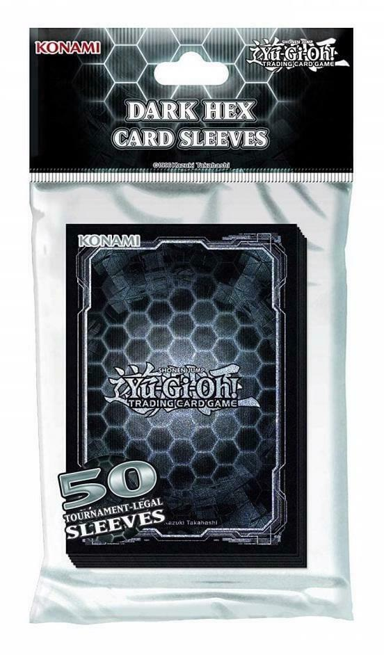 Yu-Gi-Oh Dark Hex Deck Protector Sleeves (small) x 50
