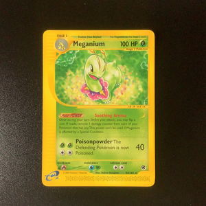 Pokemon Expedition - Meganium - 054/165-011243 - Used Rare card
