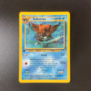 Pokemon Neo Discovery - Kabutops (1st Edition) - 025/75 - As New Rare card