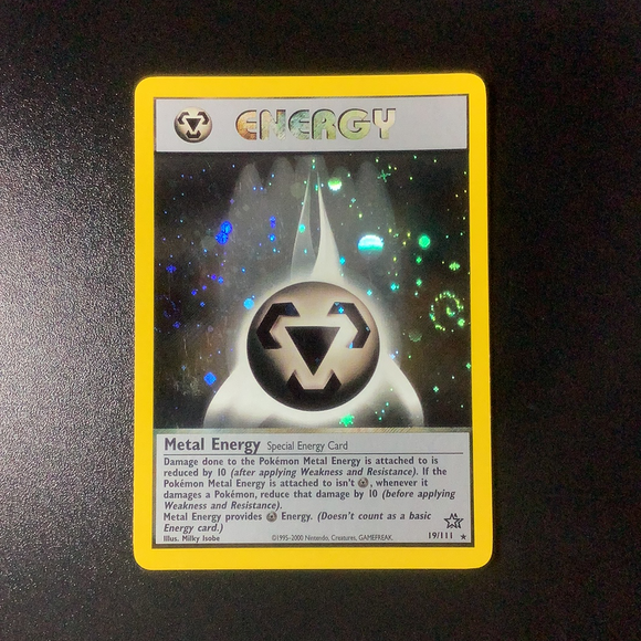 Pokemon Neo Genesis - Metal Energy - 019/111-011371 - New Holo Rare card