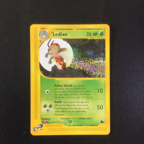 Pokemon Skyridge - Ledian - 015/144 - As New Rare card